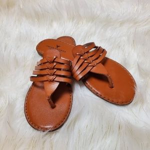 American eagle outfitters sandals flip flops 8